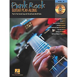 Hal Leonard Punk Rock Guitar Play-Along Series Book with CD (699576)