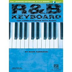 Hal Leonard R&B Keyboard Book/CD Hal Leonard Keyboard Style Series (310881)