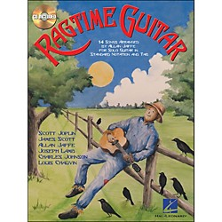 Hal Leonard Ragtime Guitar Book/CD For Solo Guitar In Standard Notation & Tab (699611)
