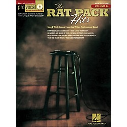 Hal Leonard Rat Pack Hits Pro Vocal Songbook & CD For Male Singers Volume 44 (740400)