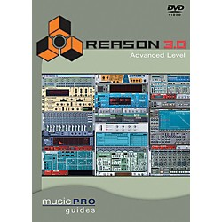 Hal Leonard Reason 3.0 Advanced Level DVD Music Pro Guide Series (320671)