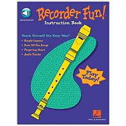 Hal Leonard Recorder Fun - Teach Yourself The Easy Way Book/CD (710005)