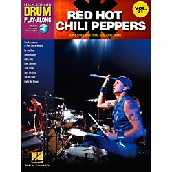 Hal Leonard Red Hot Chili Peppers Drum Play-Along Vol. 31 (Book/CD) (702992)
