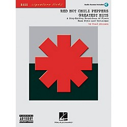 Hal Leonard Red Hot Chili Peppers Greatest Hits Bass Guitar Signature Licks Book with CD (695829)