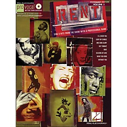 Hal Leonard Rent - Pro Vocal Series Songbook & CD For Women/Men Volume 3 (740407)