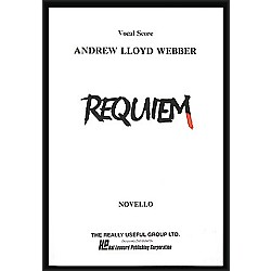 Hal Leonard Requiem Vocal Score (362640)