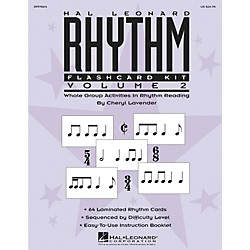 Hal Leonard Rhythm Flashcard Kit Vol. 2 (9970614)