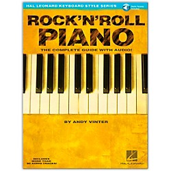 Hal Leonard Rock 'N' Roll Piano Book/CD Hal Leonard Keyboard Style Series (310912)