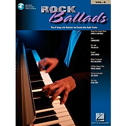 Hal Leonard Rock Ballads Keyboard Play-Along Volume 6 Book with CD (699880)