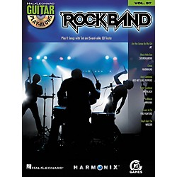 Hal Leonard Rock Band - Modern Rock Edition - Guitar Play-Along Volume 97 Book/CD Set (700703)