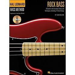 Hal Leonard Rock Bass - Hal Leonard Bass Method Supplement To Any Bass Method Book/CD (695801)
