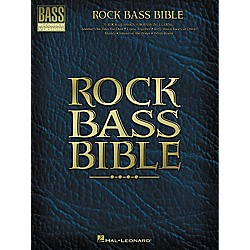 Hal Leonard Rock Bass Bible Tab Book (690446)
