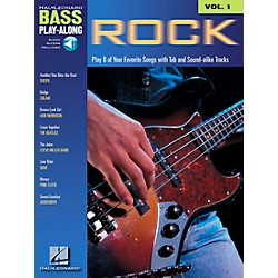 Hal Leonard Rock Bass Guitar Play-Along Series Book with CD (699674)