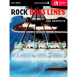Hal Leonard Rock Bass Lines Book/CD (50449478)