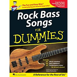 Hal Leonard Rock Bass Songs For Dummies (701714)