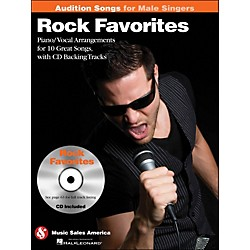 Hal Leonard Rock Favorites - Audition Songs For Male Singers Book/CD (14036220)