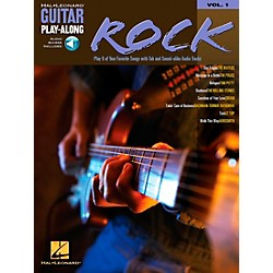 Hal Leonard Rock Guitar Play-Along Book with CD Volume 1 (699570)