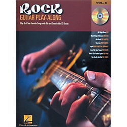 Hal Leonard Rock Guitar Play Along Series Book with CD (699585)