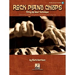 Hal Leonard Rock Piano Chops Firing Up Your Technique Book/CD (312273)
