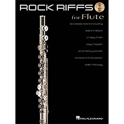 Hal Leonard Rock Riffs For Flute Book/CD (842338)