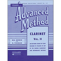 Hal Leonard Rubank Advanced Method For Clarinet Volume 2 (4470320)