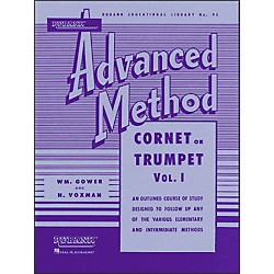 Hal Leonard Rubank Advanced Method For Cornet Or Trumpet Volume 1 (4470330)