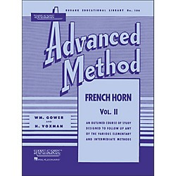 Hal Leonard Rubank Advanced Method For French Horn Volume 2 (4470450)