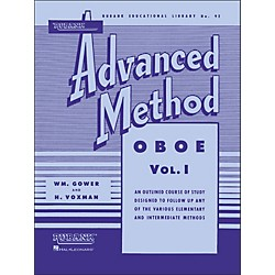 Hal Leonard Rubank Advanced Method For Oboe Volume 1 (4470410)