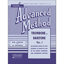 Hal Leonard Rubank Advanced Method For Trombone Or Baritone Volume 1 (4470350)