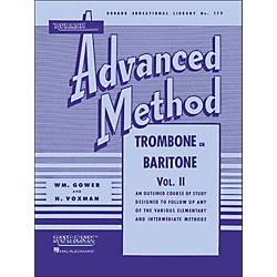 Hal Leonard Rubank Advanced Method For Trombone Or Baritone Volume 2 (4470360)
