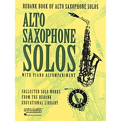 Hal Leonard Rubank Book Of Alto Saxophone Solos With Piano Accompaniment - Easy Level (4479896)