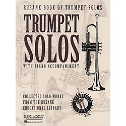 Hal Leonard Rubank Book Of Trumpet Solos Intermediate Level (4479895)
