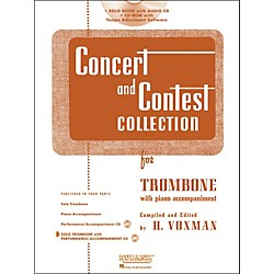 Hal Leonard Rubank Concert & Contest Collection Trombone Book/CD (4002522)