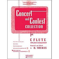 Hal Leonard Rubank Concert And Contest Collection - Flute (Book/CD) (4002506)