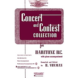 Hal Leonard Rubank Concert And Contest Collection Baritone B.C. Book/CD (4470007)
