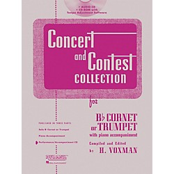 Hal Leonard Rubank Concert And Contest For Trumpet/Cornet - Accompaniment CD (4002517)