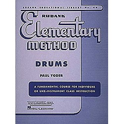 Hal Leonard Rubank Elementary Method - Drums Book (4470090)