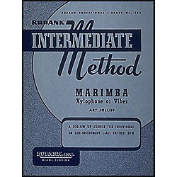 Hal Leonard Rubank Intermediate Method - Marimba/Xylo- Phone Or Vibes (4470270)