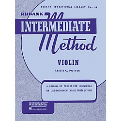 Hal Leonard Rubank Intermediate Method - Violin (4470280)