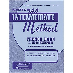 Hal Leonard Rubank Intermediate Method French Horn F Or E Flat (4470240)