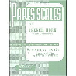 Hal Leonard Rubank Pares Scales For French Horn, E Flat Alto Or Mellophone (4470550)