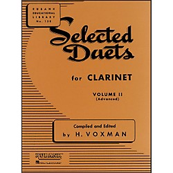 Hal Leonard Rubank Selected Duets Clarinet Vol 2 Advanced (4470950)