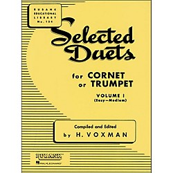 Hal Leonard Rubank Selected Duets For Cornet Or Trumpet Vol 1 Easy/Medium (4470980)