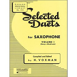 Hal Leonard Rubank Selected Duets For Saxophone Vol 1 Easy/Medium (4470960)