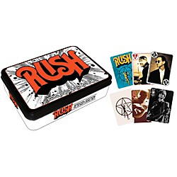 Hal Leonard Rush Playing Cards 2-Deck Set Gift Tin (114583)