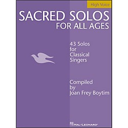 Hal Leonard Sacred Solos For All Ages For High Voice (740199)