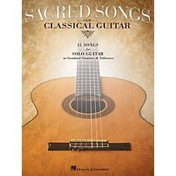 Hal Leonard Sacred Songs For Classical Guitar (Standard Notation & Tab) Songbook (702426)