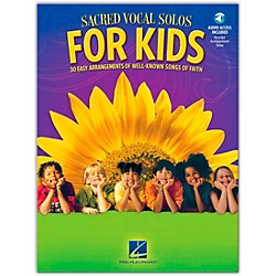 Hal Leonard Sacred Vocal Solos For Kids Book/CD (110424)