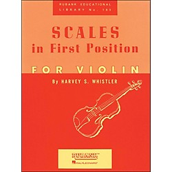 Hal Leonard Scales In First Position For Violin (4472540)