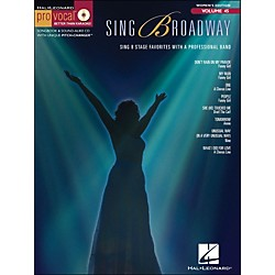 Hal Leonard Sing Broadway - Pro Vocal Songbook & CD For Female Singers Volume 45 (740419)